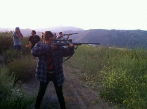 Skeet shoot with friends....Check!