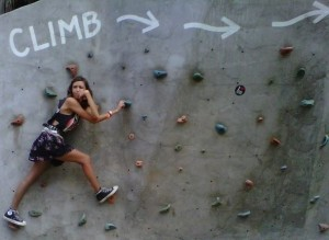 Climb all the way to the top!