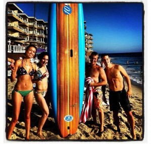 Try paddle boarding.....check!