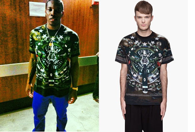 Eric Bledsoe in Givenchy