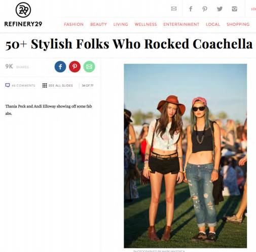 Refinery 29 Thania Peck Catcher in the Style