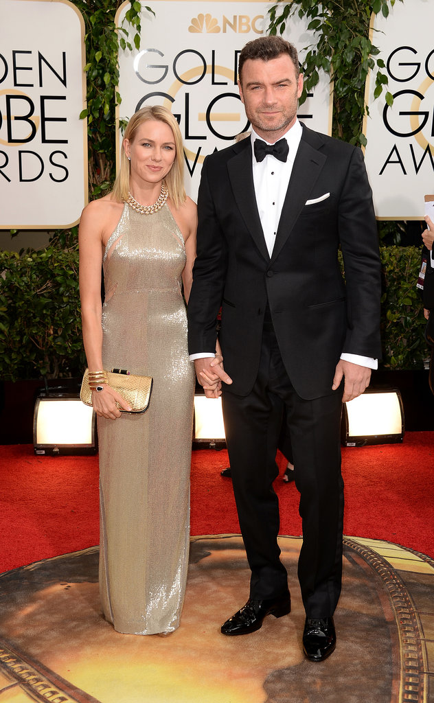 Naomi-Watts-Liev-Schreiber-Golden-Globes-2014 www.catcherinthestyle.com