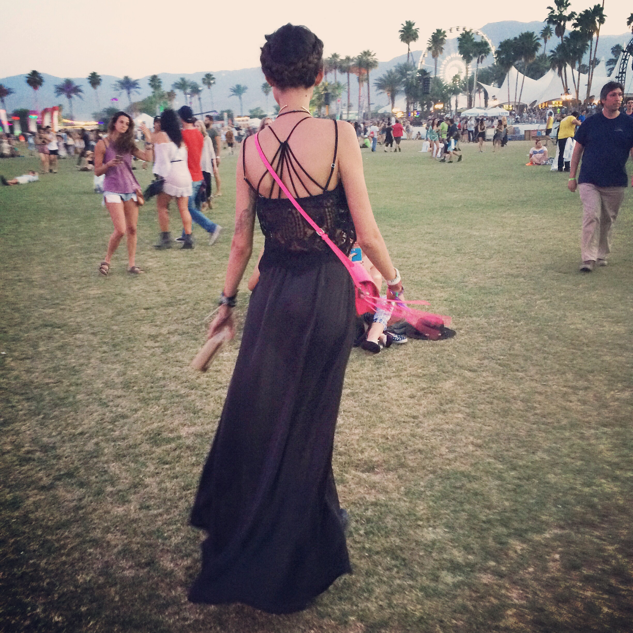 catcher in the style Coachella Thania Peck